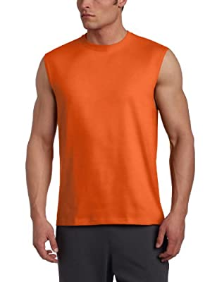 Russell Athletic Men's Cotton Muscle Shirt by Russell Athletic