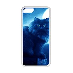 XiFu*MeiLonely Black Cat In Snow Field Phone Case for ipod touch 4XiFu*Mei