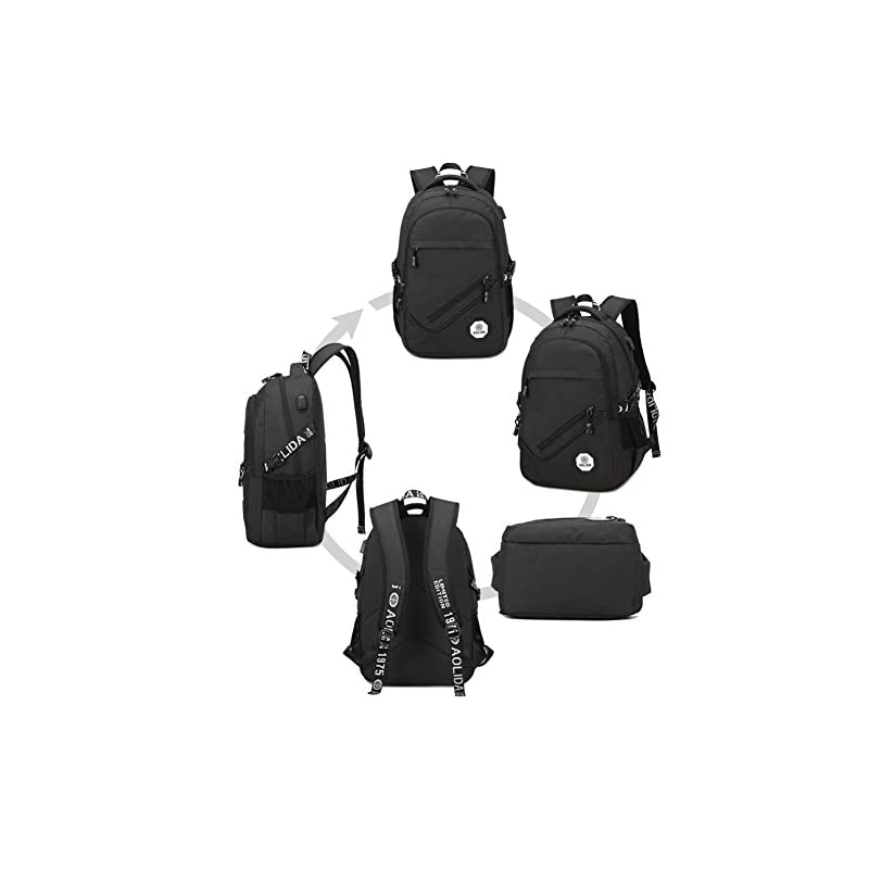 Laptop-Backpack-Anti-Theft-Lightweight-Best-Backpacks-for-High-School-Bags-Business-Laptop-Backpack-with-USB-Charging-Port-Fits-up-to-156-inch-Notebook-Computer-etc-Black