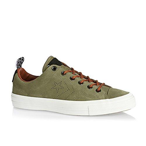 Converse Star Player Premium Suede Ox Herren Sneaker Grün