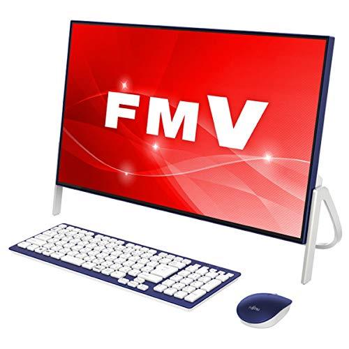 【おまけ付】 富士通 HomeCore (FUJITSU) デスクトップPC ESPRIMO FH56 ESPRIMO/C2 4GB] FMVF56C2LB ホワイト×ネイビー [Win10 HomeCore i323.8インチOffice付きHDD 1TBメモリ 4GB] B07L6JRNWH, レザー生地販売 「布百選」:c85dfaaa --- martinemoeykens.com