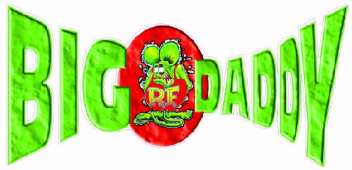 Nostalgia Decals Big Daddy Ed Roth Decal 7