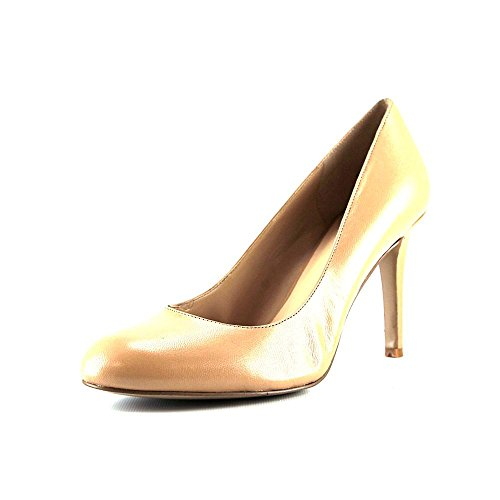 Nine West Caress Womens Size 10 Tan Leather Pumps Heels Shoes