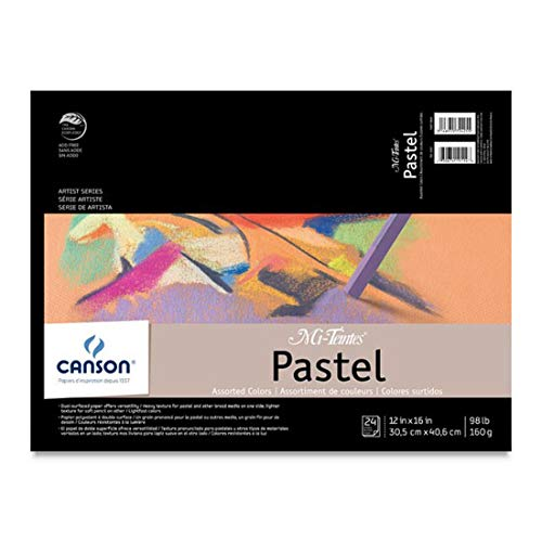 Mi Teintes Pad - Mi-Teintes Pastel Pad 12X16 Assorted Colors