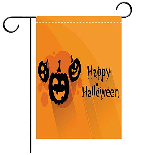 BEICICI Double Sided Premium Garden Flag Pumpkin Halloween