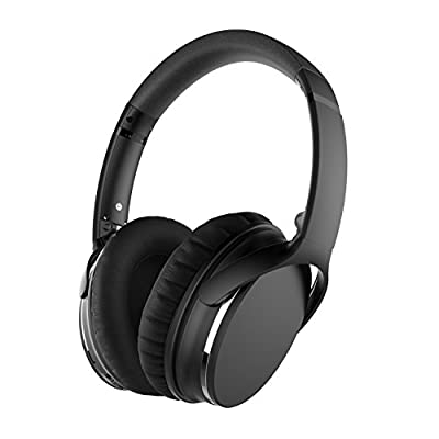 Sunvito ANC Headphones,Active Noise Cancelling Bluetooth Headphones HiFi Stereo Wireless Over-ear Headsets with Mic and Volume Control for all 3.5mm Jack & Bluetooth Devices