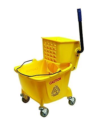 O'Cedar Commercial 96988 Mop Bucket and Wringer, 26 Quart