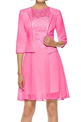 42 rosa mujer Topkleider para trapecio Vestido 0qRSHwBa