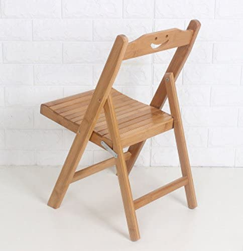 HAOYUXIANG Outdoor leisure chair portable folding chair stool bamboo chair stool installation free height 31cm