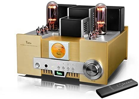 Amazon.com: YAQIN MS-650B 8452 Class A Single Ended Integrated Tube Amplifier with Remote Control: MP3 Players & Accessories