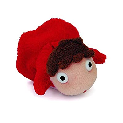 "Ponyo Studio Ghibli 4"" long plush doll: Toys & Games"