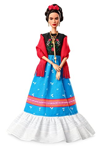 Barbie Inspiring Women Frida Kahlo Doll