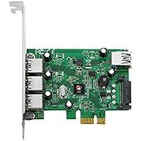 SIIG JU-P40212-S1 JU-P40412-S1 4-Port USB 3.0 PCIe