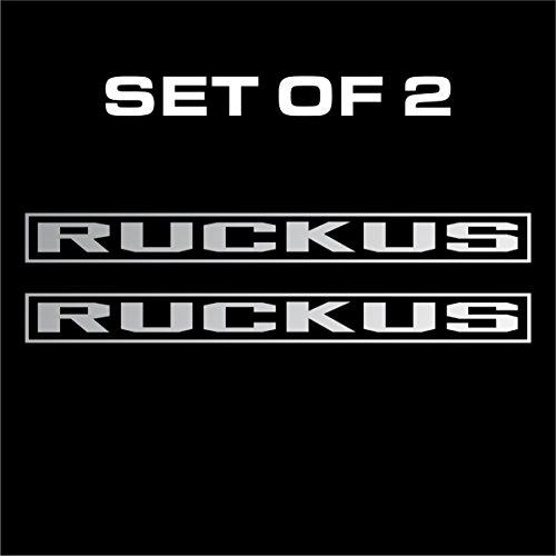 Honda Ruckus OEM Stock Vinyl Decal Decals Sticker Stickers Car Window Bumper - Die Cut No Background (Silver (Oem Stock)