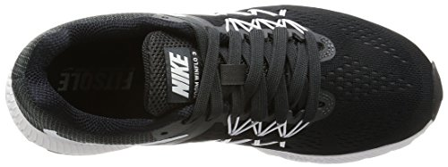 Zoom Anthracite 001 Noir White Femme De Winflo Eu black Entrainement Chaussures Wmns 3 Noir Nike Running Zqw56awg