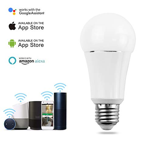 Smart Bulb by MartinJerry | Compatible with Alexa, Smart Home Devices Works with Google Home, No Hub required, Easy installation and App control as Smart Switch On/Off / Timing (1 Pack) by Martin Jerry (Image #1)