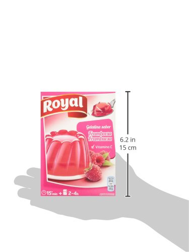 Royal Gelatina Frambuesa - 170 gr (2 sobres x 85 gr): Amazon.es: Alimentación y bebidas