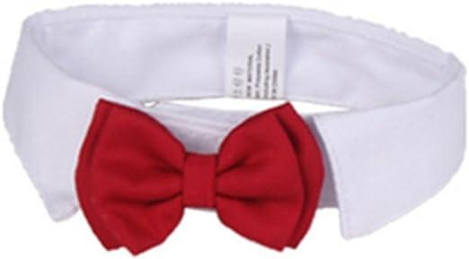 Gespout Pajarita Corbata Collar para Pet Bow Tie Decoración Paño ...
