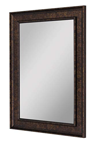 Hitchcock Butterfield Second Look Mirrors Cappuccino Copper Bronze Framed Wall Mirror, 18