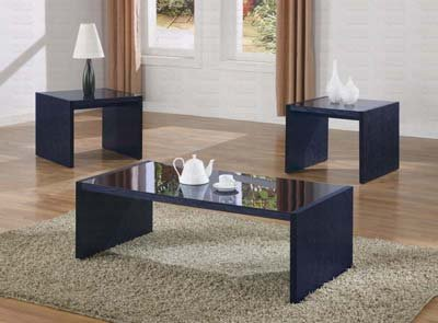 Coaster Italy Collection 3 Piece Coffee Table Set by Coaster Home Furnishings