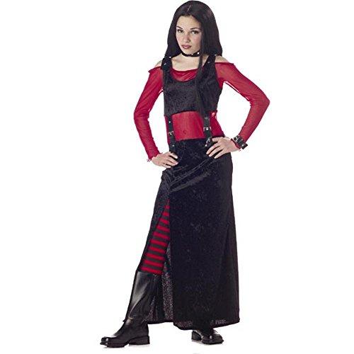 Child's Punk Rocker Girl Halloween Costume (Size: Large 10-12)