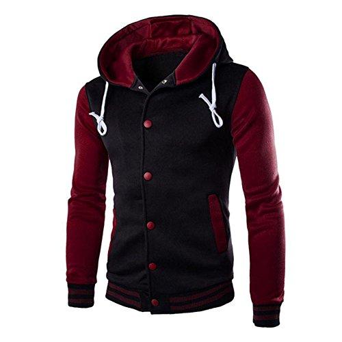 - Cotton Coats for Men,Realdo Men's Warm Outwear Jacket Autumn Winter Slim Sweatshirt