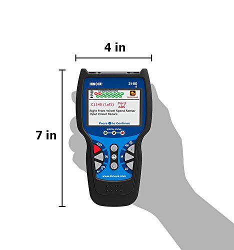 Innova 3160g is an advanced tool for the professional Tech that has a hand-held design