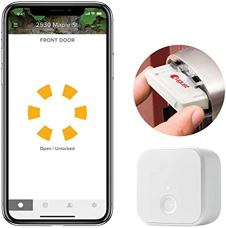 Yale Wi-Fi and Bluetooth Upgrade Kit for Assure Locks and Assure Levers – Works with the August app, Amazon Alexa, Google Assistant and Siri Ayr202-CBA-KIT
