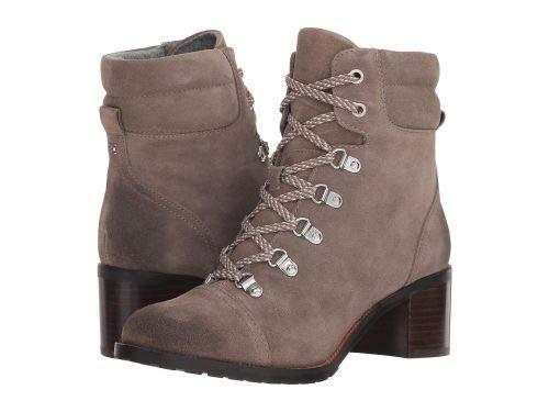 Sam Edelman(サムエデルマン) レディース 女性用 シューズ 靴 ブーツ レースアップブーツ Manchester - Flint Grey Velutto Suede [並行輸入品] B07HP5VS63 11 M