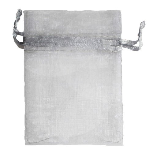 "AerWo 3""x 3.5"" 7x9cm Organza Drawstring Strong Candy Jewelry"