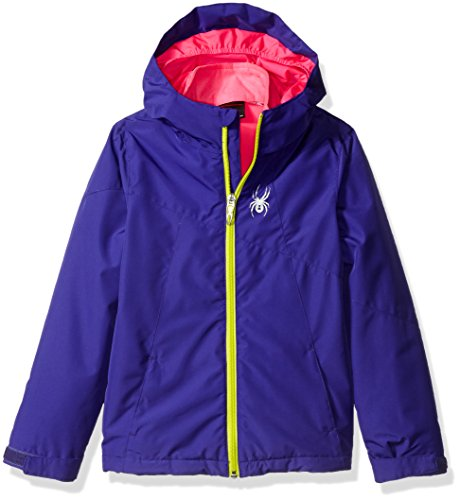 Spyder Girls Reckon 321 Jacket, Pixie/Acid/Bryte Bubblegum, Medium