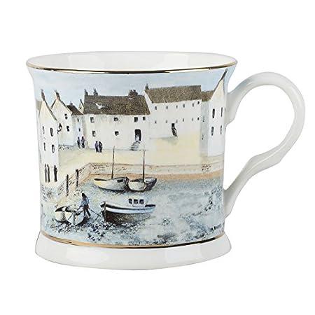 Creative Tops Cornish Harbour Blue Palace Mug, Ceramic, 8 x 10.5 x 10.5 cm 410qCIcQqIL