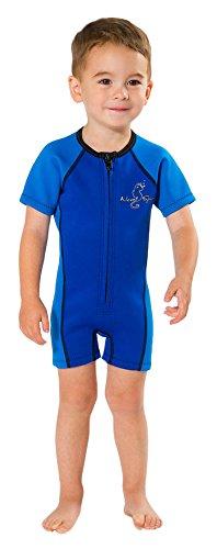 - NeoSport Wetsuits Children's Premium Neoprene 2mm Wetsuit, Blue, Size Three