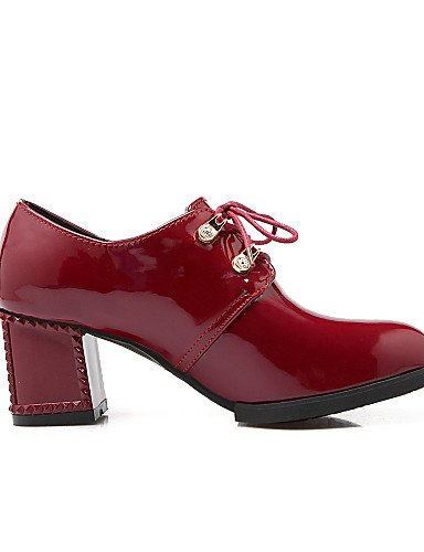 us8 5 Eu39 Tacco 5 bianco Cn40 Nero Casual in bordeaux Hug spillo Njx Shoes similpelle nero Donna a Uk6 4ZnOg6wq
