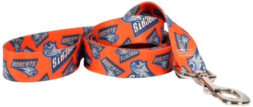 Yellow Dog Design Charlotte Bobcats Lead, 3/8-Inch by 60-Inch
