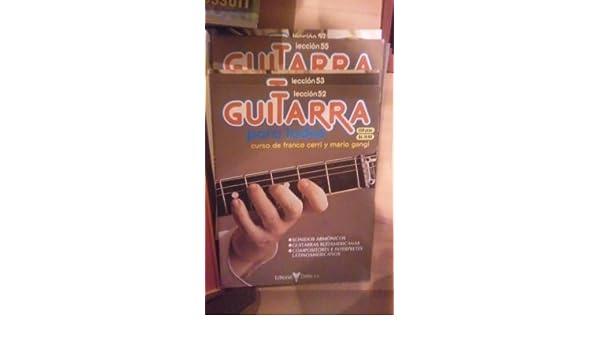CURSO COMPLETO DE GUITARRA: GUITARRA PARA TODOS Barcelona 1982 ...