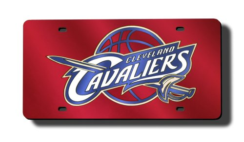 Rico Industries NBA Cleveland Cavaliers Laser-Cut Auto Tag by Rico Industries