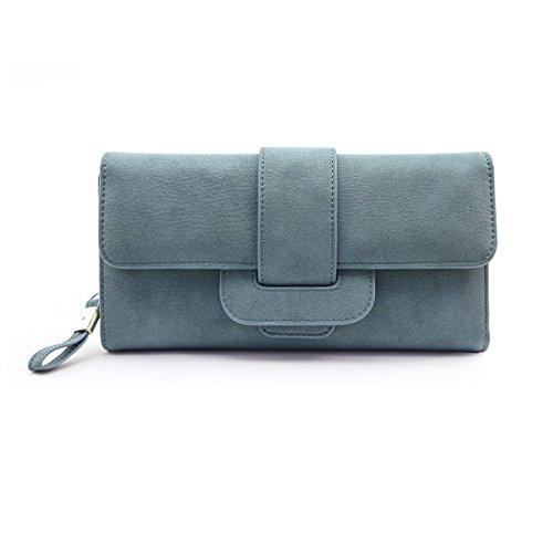 women-large-capacity-zipper-long-clutch-wallet-leather-lady-elegant-purse-card-holder-caseblue-westy
