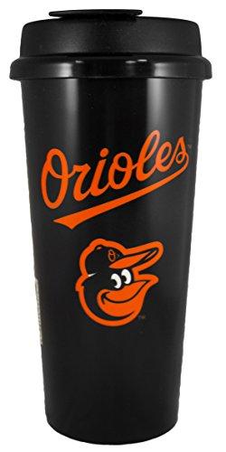 Baltimore Orioles 16oz Travel Mug (Orioles Baltimore Mug)