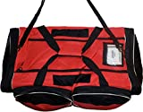 JAMM Senior Vented Red and Black Hockey Bag with End & Skate Pockets