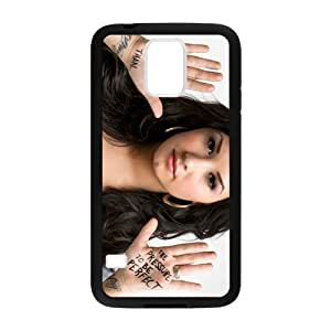 Demi Lovat Cell Phone Protector for Samsung Galaxy S5 Plastic and TPU (Laser Technology)