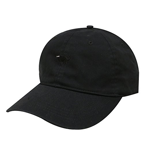 (City Hunter C104 Small Black Cat Cotton Baseball Cap 9 Colors)