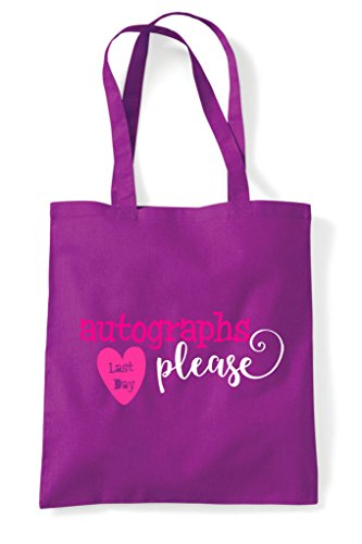 Autographs Bag Day Shopper Tote Magenta Please Last Z6wp5Ixqw