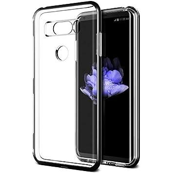 Funda LG V30 VRS Design® Funda transparente de doble capa ...
