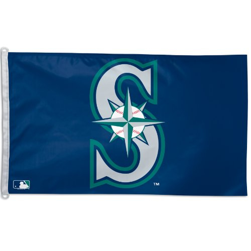 MLB Seattle Mariners 3-by-5 foot Flag