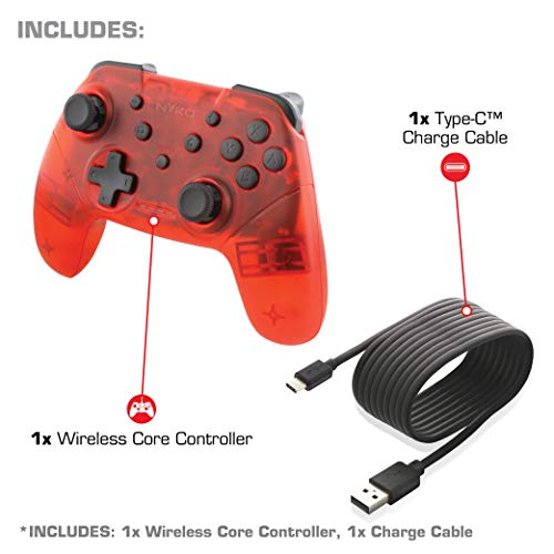 Amazon.com: Nyko Wireless Core Controller - Bluetooth Pro Controller Alternative with Turbo and Android/PC Compatibility for Nintendo Switch - Purple: Video ...