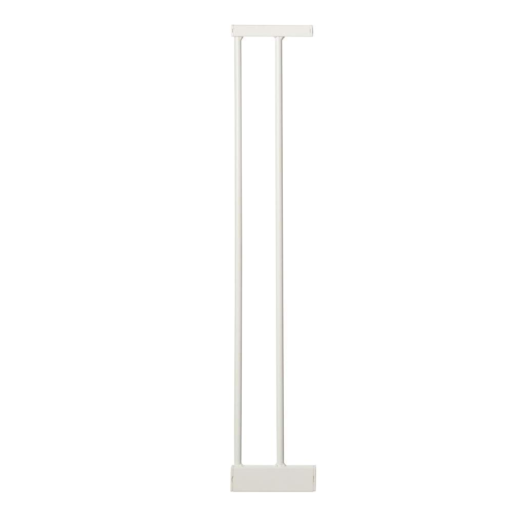 """Toddleroo by North States 2 Bar Extension for Essential Walk Thru Gate: Adjust your gate to fit your space. Add up to three extensions. No tools required. (Adds 6"""" width, White)"""