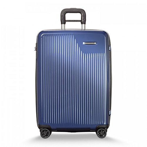 Briggs & Riley Sympatico Expandable Carry-On CX 25'' Spinner, Marine Blue by Briggs & Riley