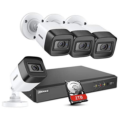 ANNKE 8 Channel Ultra HD 4K Home Security System with 4X 8MP