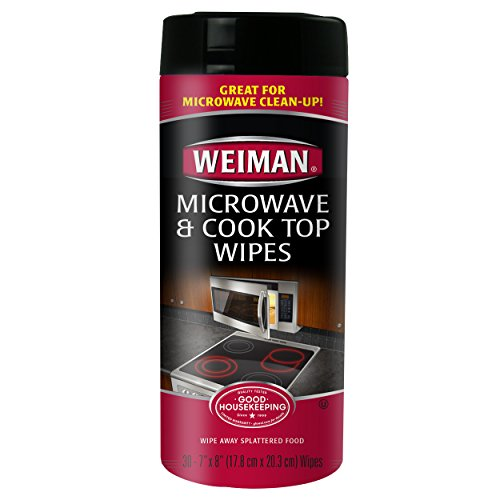 Weiman Microwave Cook Wipes count